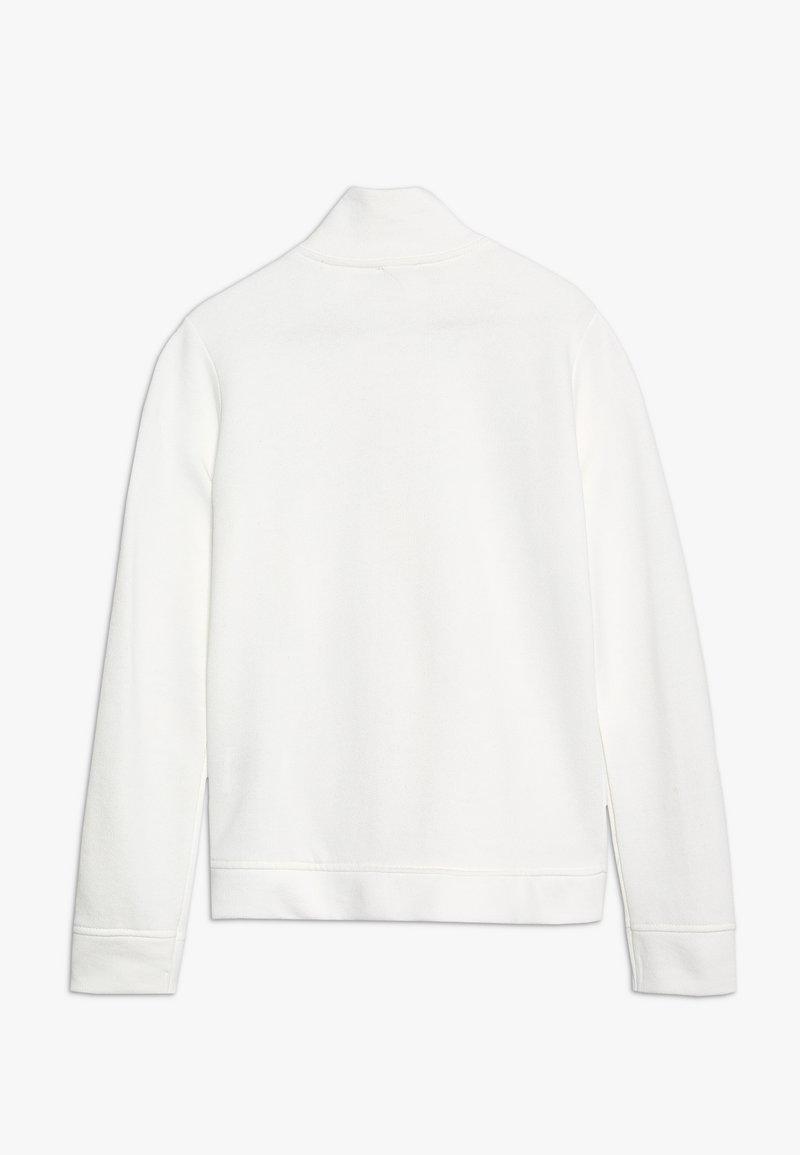Benetton - JACKET - Mikina na zip - white