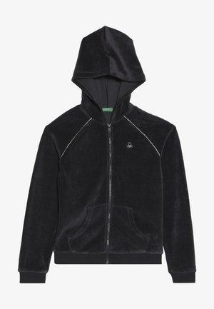 JACKET HOOD - veste en sweat zippée - grey