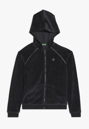 JACKET HOOD - Mikina na zip - grey