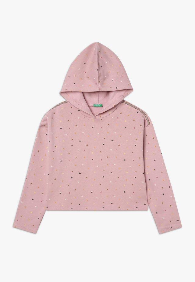 CLOSED  - Hoodie - light pink
