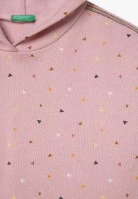 Benetton - CLOSED  - Felpa con cappuccio - light pink - 3