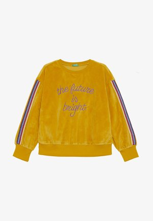 CLOSED - Sweatshirt - mustard yellow