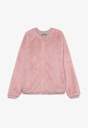 MOCK NECK - Sweatjacke - light pink
