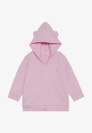 HOOD BABY - veste en sweat zippée - light pink