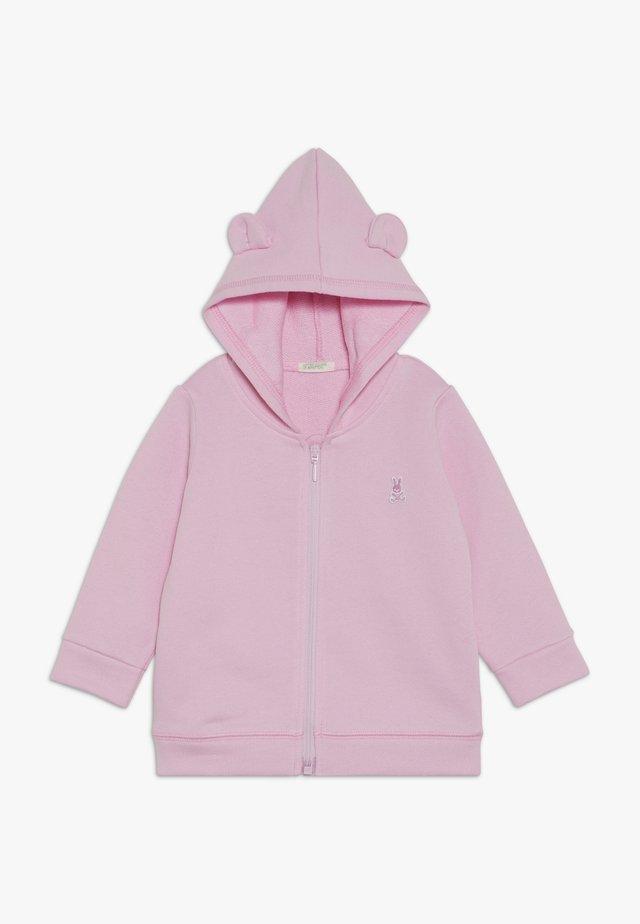 HOOD BABY - Mikina na zip - light pink