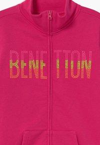 Benetton - Zip-up hoodie - pink - 3