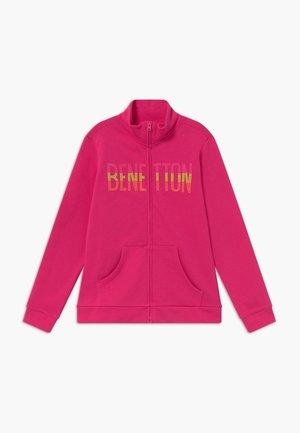 veste en sweat zippée - pink