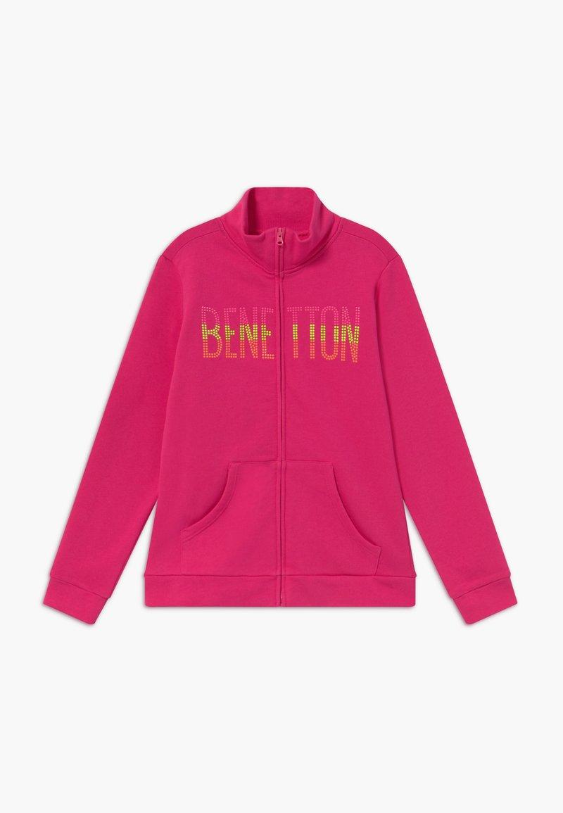 Benetton - Zip-up hoodie - pink