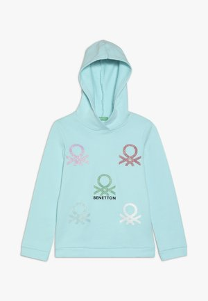 SWEATER HOOD - Mikina s kapucí - light blue