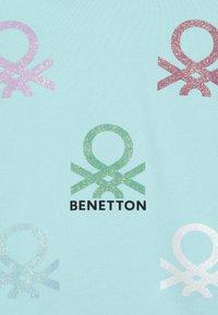 Benetton - SWEATER HOOD - Mikina skapucí - light blue - 3