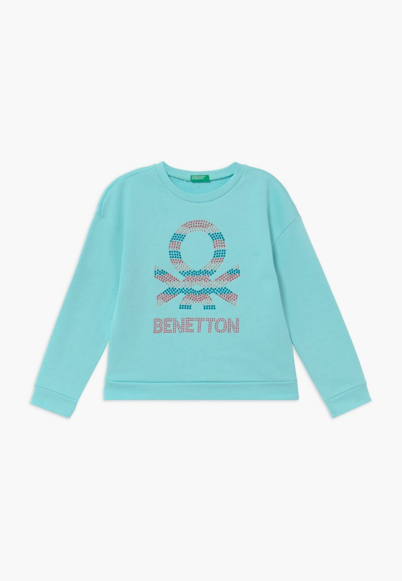 Benetton - Mikina - light blue