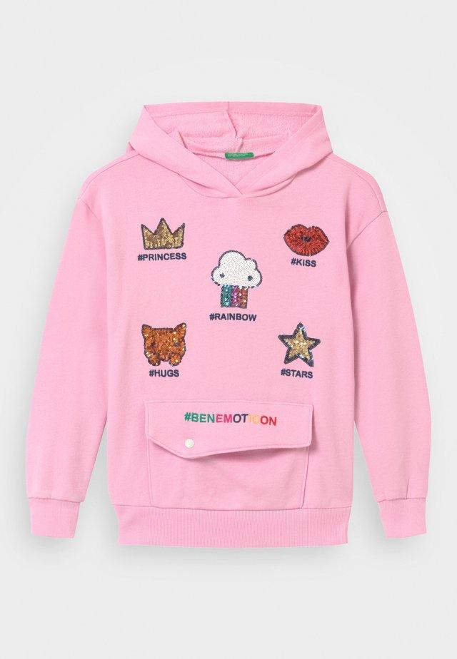 ONLINE GIRL - Bluza z kapturem - light pink