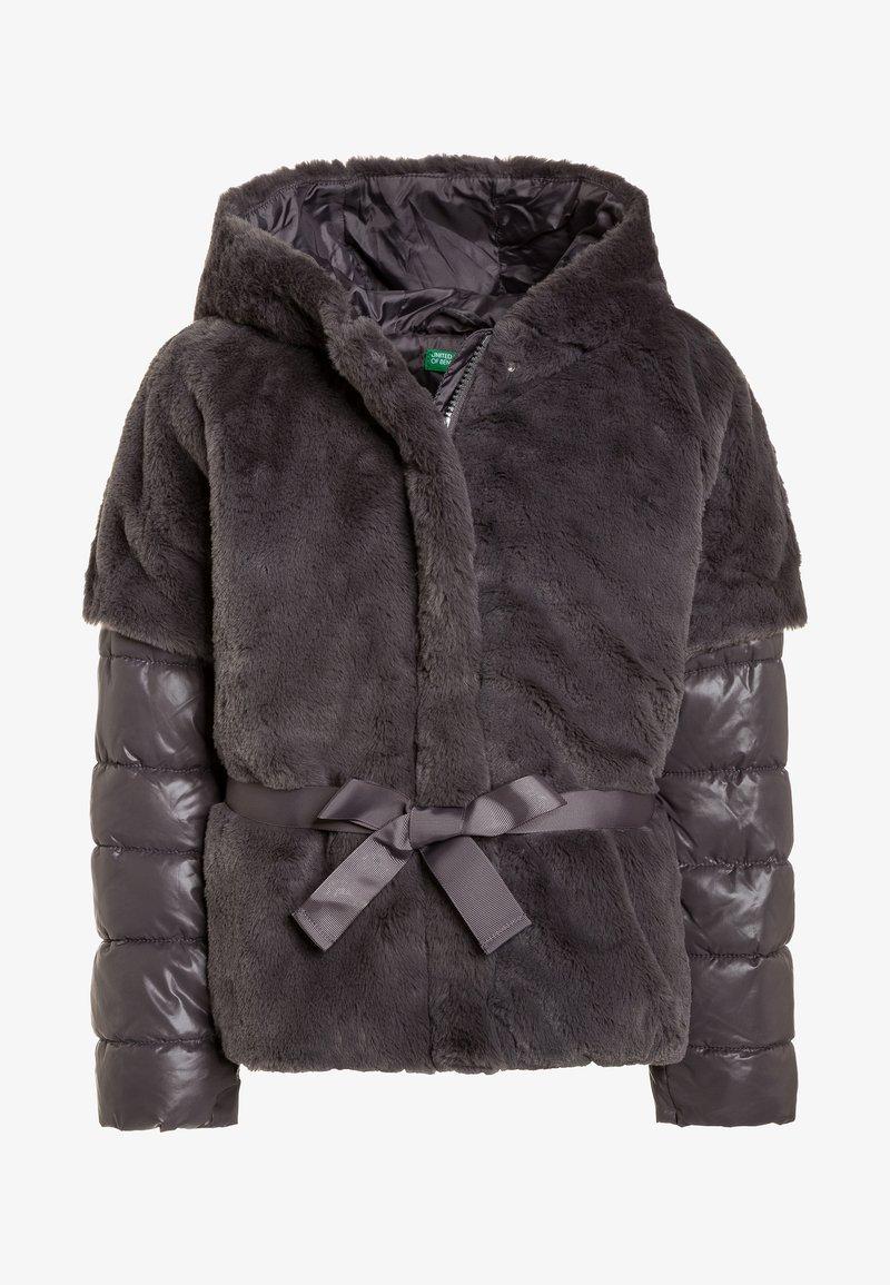 Benetton - JACKET - Winterjacke - dark grey