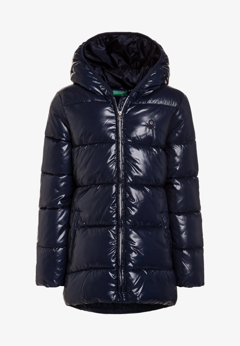 Benetton - Winterjas - dark blue