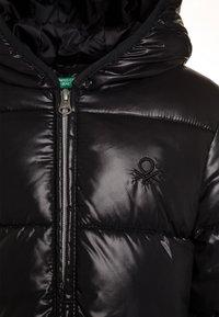 Benetton - Wintermantel - black - 3