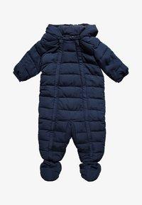 Benetton - OVERALL BABY - Mono para la nieve - dark blue - 0