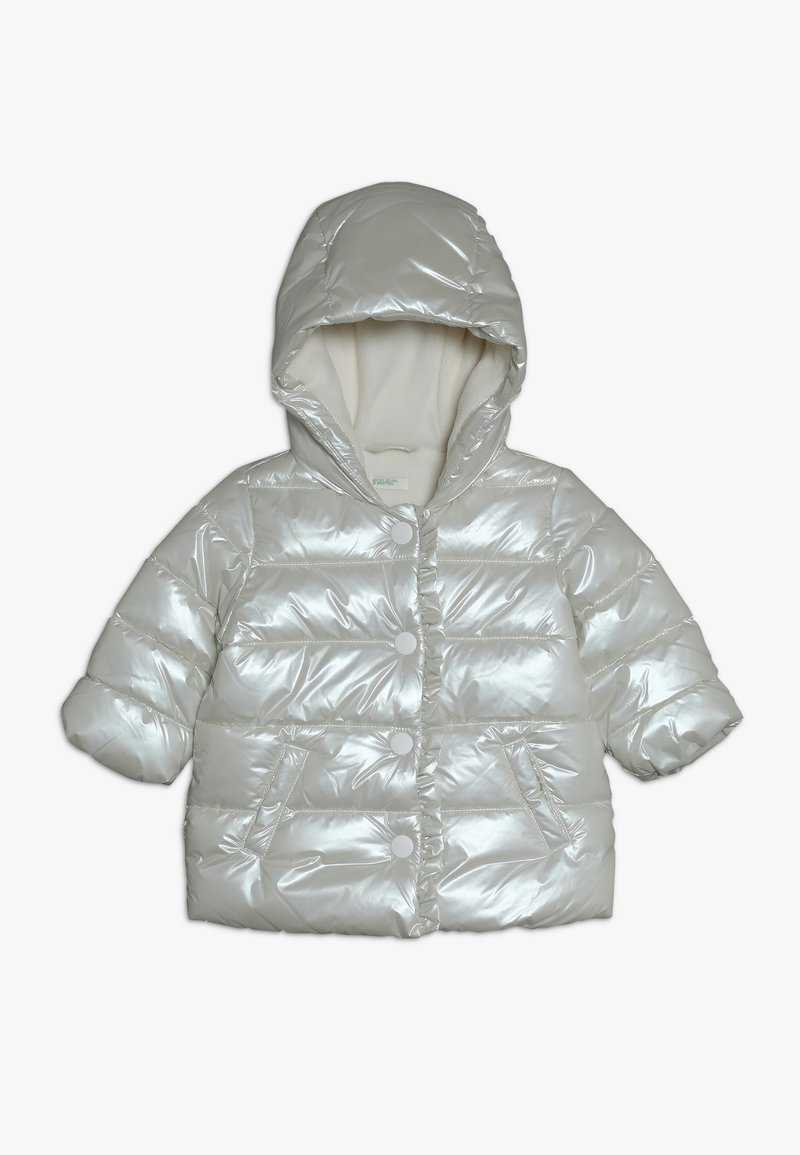 Benetton - JACKET - Winter jacket - off-white