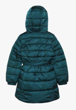 JACKET BELT - Płaszcz zimowy - petrol