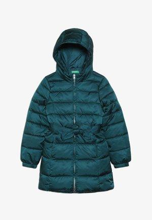 JACKET BELT - Winter coat - petrol