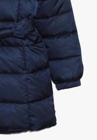 Benetton - JACKET BELT - Cappotto invernale - dark blue - 2