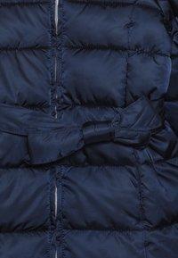 Benetton - JACKET BELT - Cappotto invernale - dark blue - 4