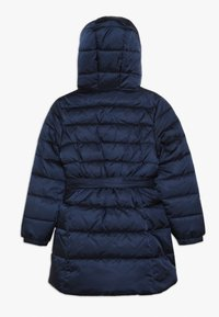 Benetton - JACKET BELT - Cappotto invernale - dark blue - 1