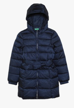 JACKET BELT - Winter coat - dark blue