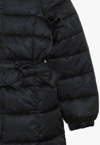 Benetton - JACKET BELT - Zimní kabát - black - 2