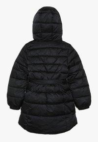 Benetton - JACKET BELT - Zimní kabát - black - 1