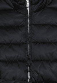 Benetton - JACKET BELT - Zimní kabát - black - 4