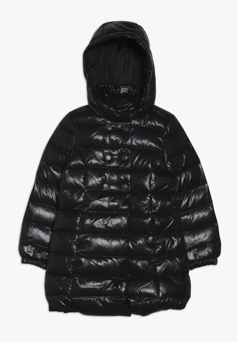 Benetton - JACKET - Abrigo de plumas - black