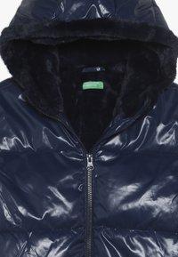 Benetton - JACKET - Chaqueta de invierno - dark blue - 4