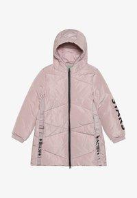 Benetton - Zimní kabát - light pink - 3