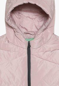 Benetton - Zimní kabát - light pink - 4
