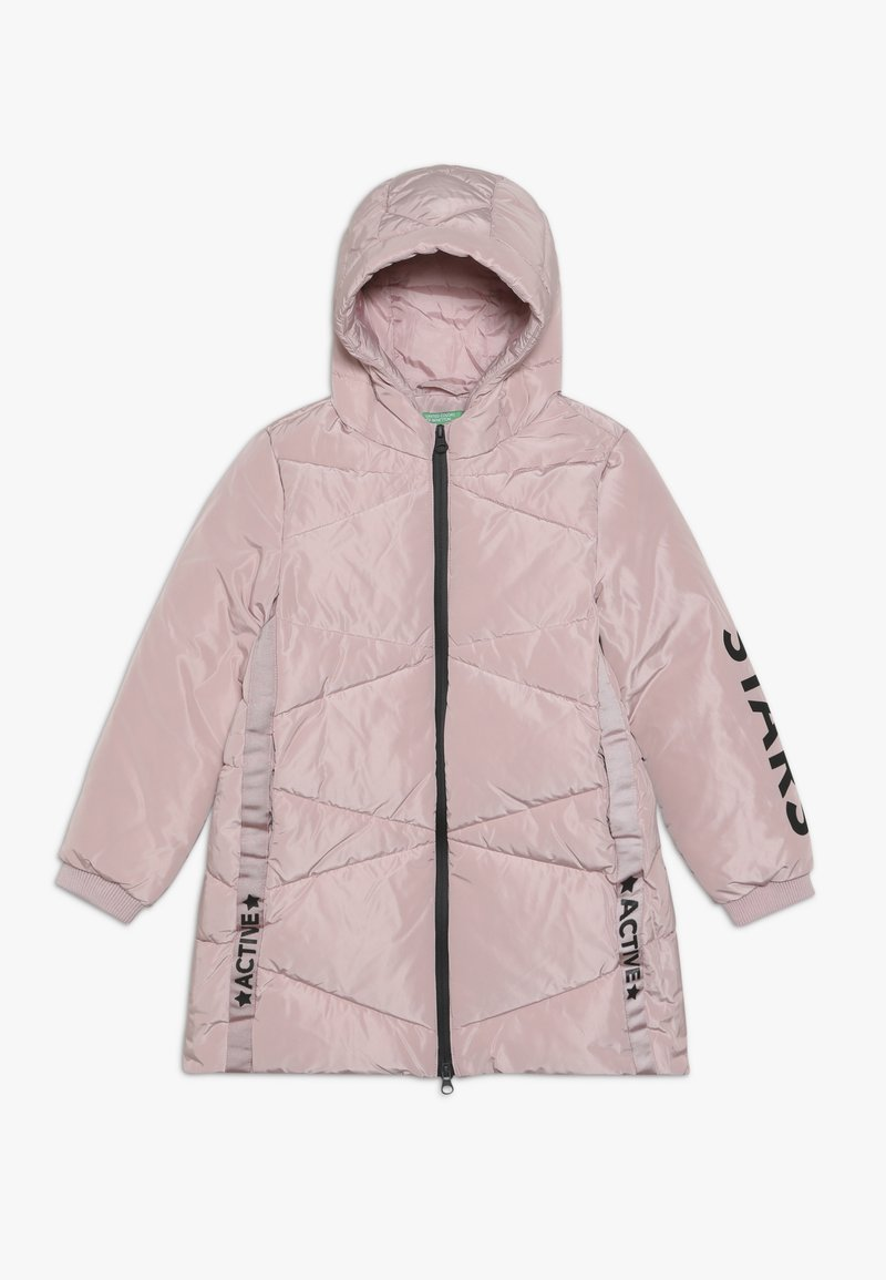 Benetton - Winterjas - light pink