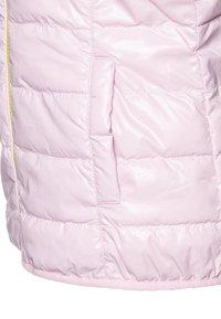 Benetton - WAISTCOAT - Kamizelka - yellow/lihgt pink - 3