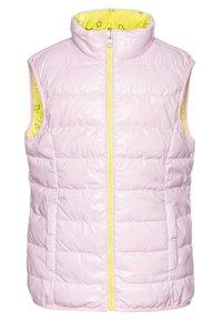 Benetton - WAISTCOAT - Kamizelka - yellow/lihgt pink - 2
