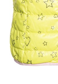 Benetton - WAISTCOAT - Kamizelka - yellow/lihgt pink - 4