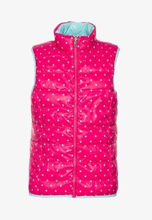 WAISTCOAT - Waistcoat - pink/light blue
