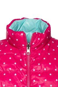 Benetton - WAISTCOAT - Bodywarmer - pink/light blue - 4