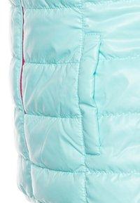 Benetton - WAISTCOAT - Bodywarmer - pink/light blue - 3