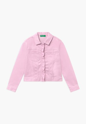 Denim jacket - pink