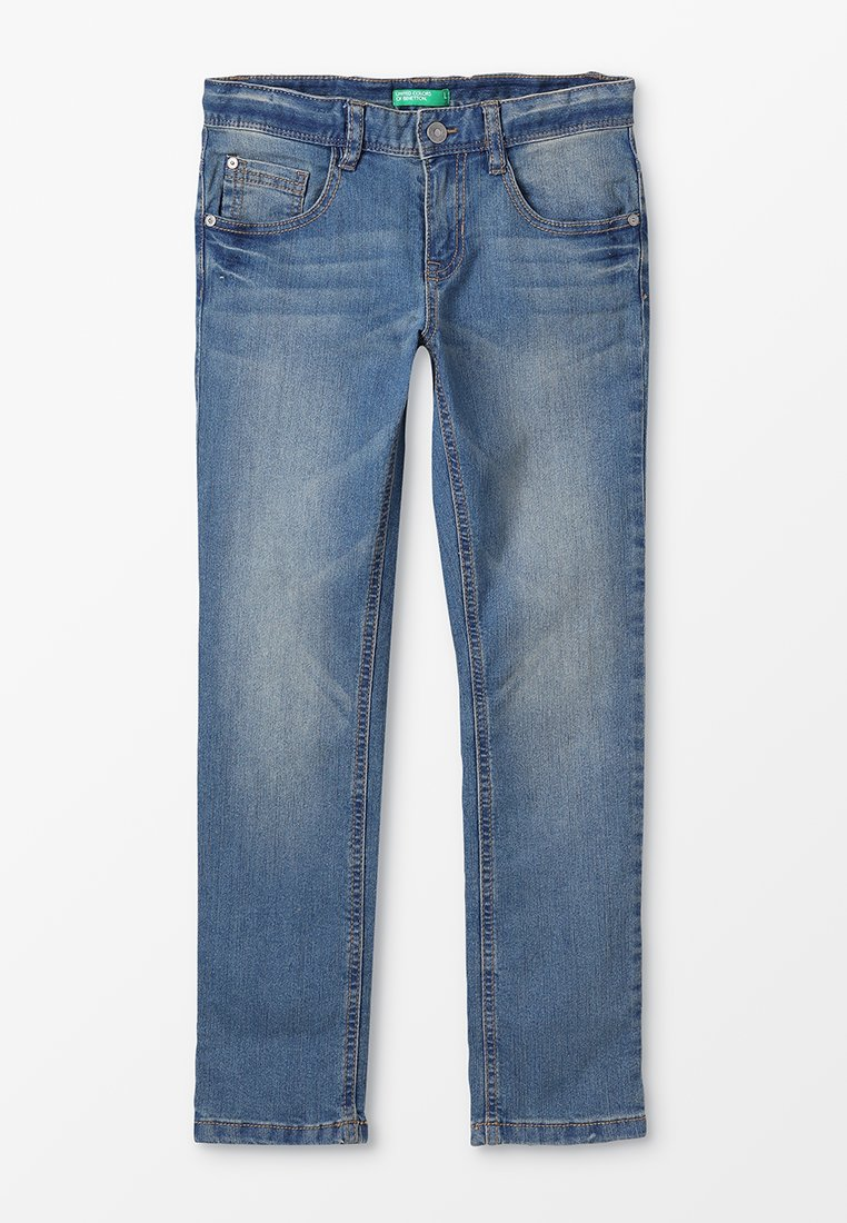 Benetton - TROUSERS BASIC - Slim fit jeans - blue