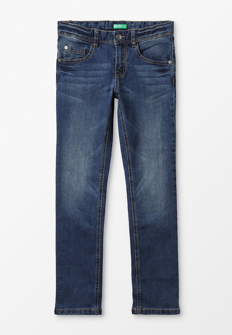 Benetton - TROUSERS BASIC - Jeans Slim Fit - blue