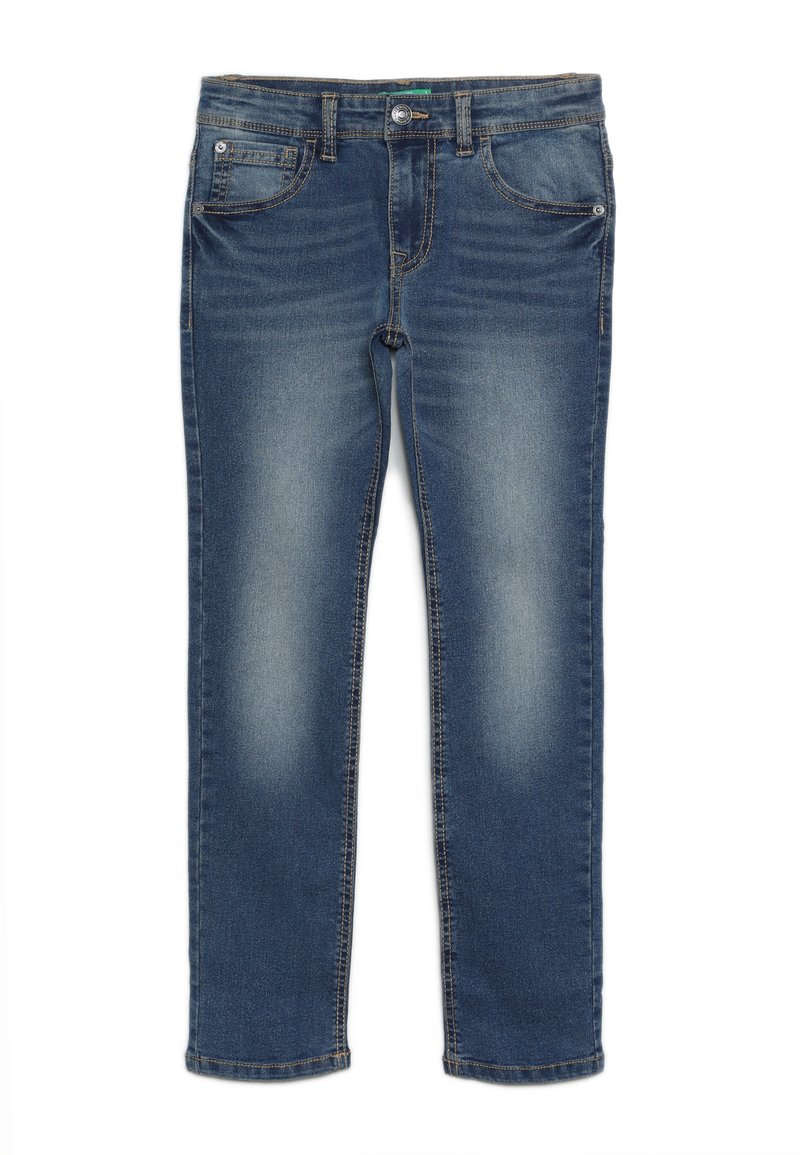 Benetton - TROUSERS - Jeans Skinny Fit - blue
