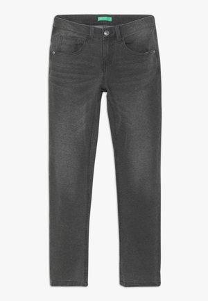 TROUSERS - Relaxed fit jeans - grey