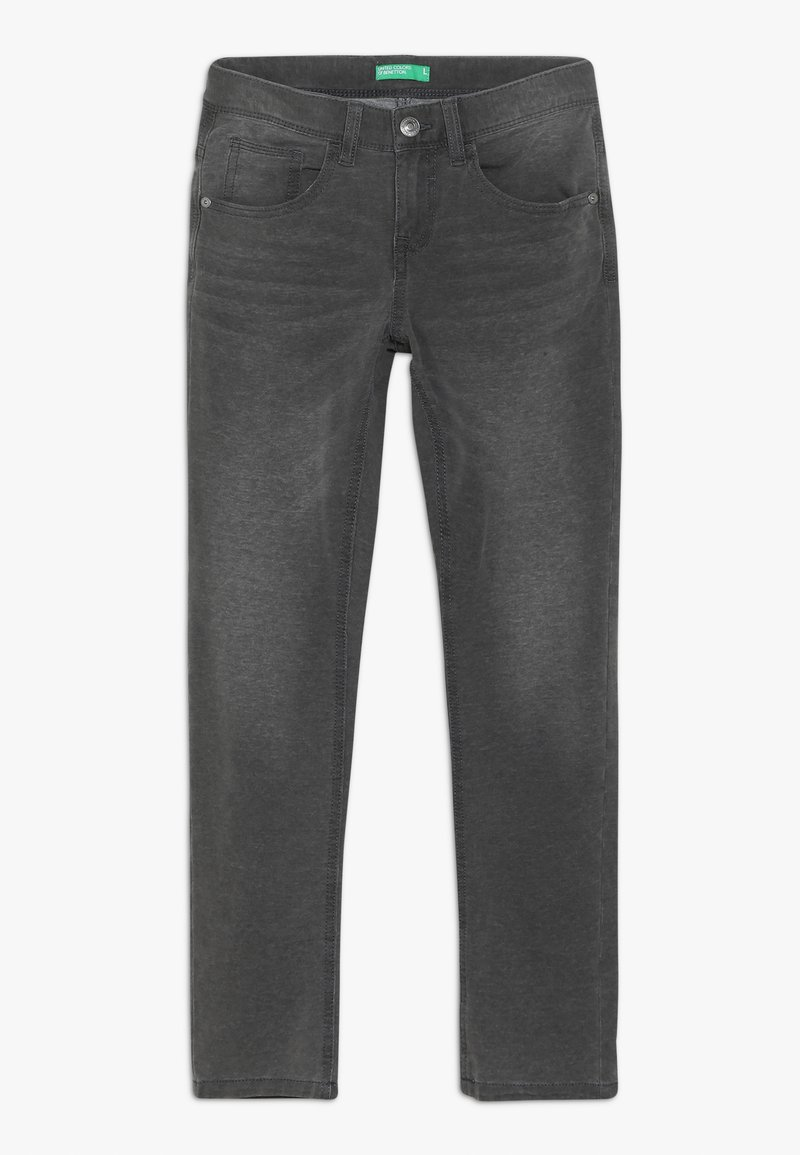 Benetton - TROUSERS - Relaxed fit jeans - grey
