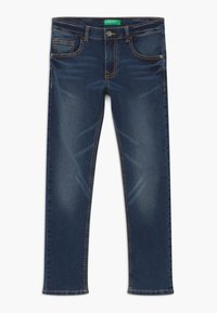 Benetton - Jeans Skinny Fit - dark blue denim - 0