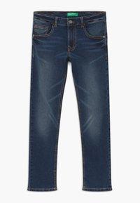 Benetton - Jeans Skinny - dark blue denim - 0