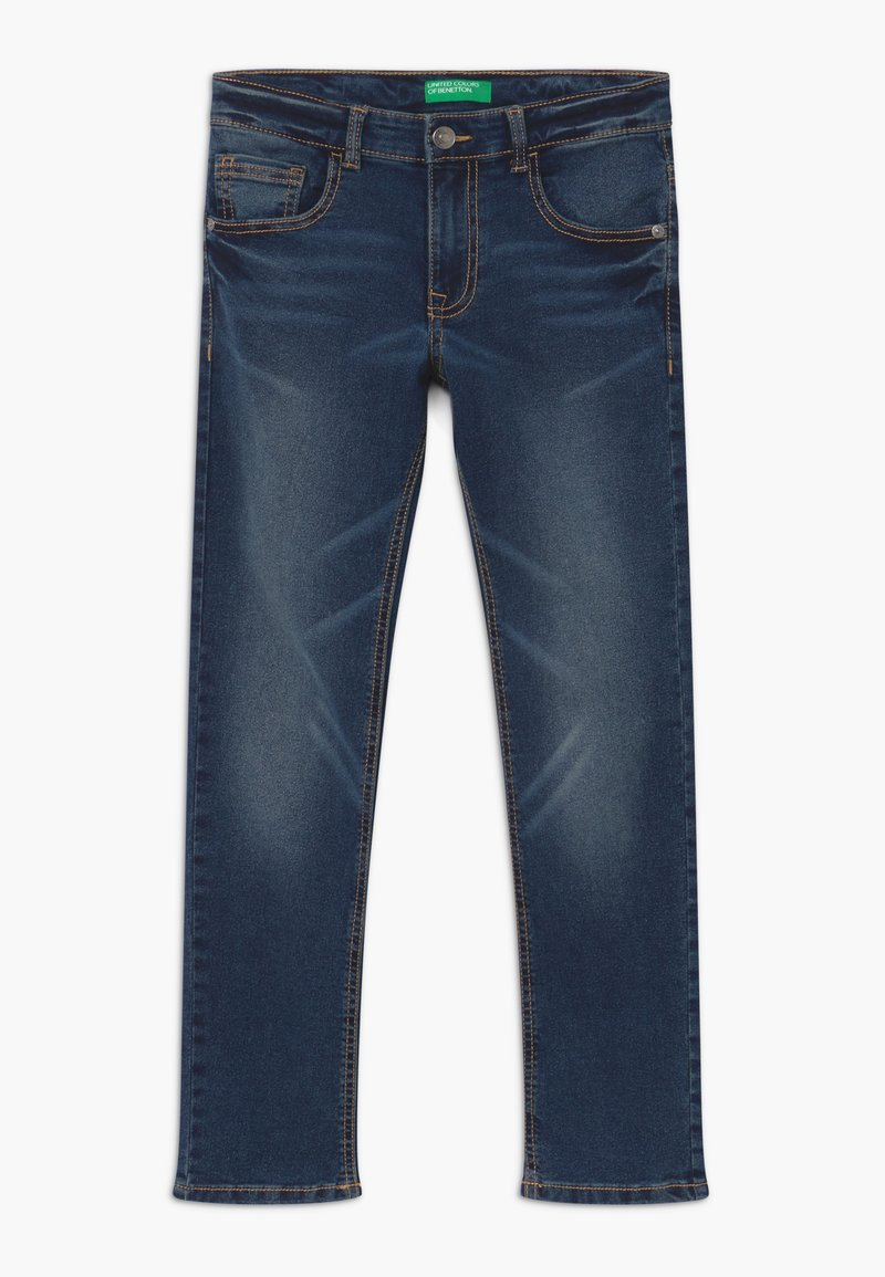 Benetton - Jeans Skinny Fit - dark blue denim
